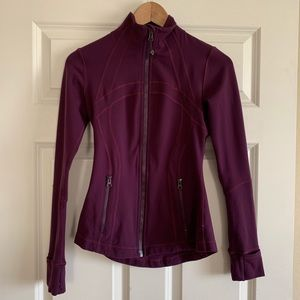 Lululemon Define Jacket Zip Up in Plum Purple